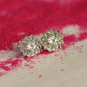 Small Stud Sterling Silver Earring