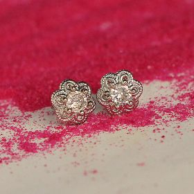 Small Stud Silver Earring