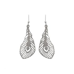 God Devotee Silver Earring