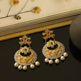 Rajasthani Premium Silver Earrings