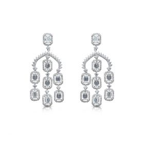 Beautiful Izaara Earring with SwarovskiB. Zirconia