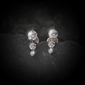 Dangle Izaara Earring With Swarovski Zirconia