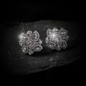 Izaara Shining Earrings Pair with Swarovski® Zirconia Stone