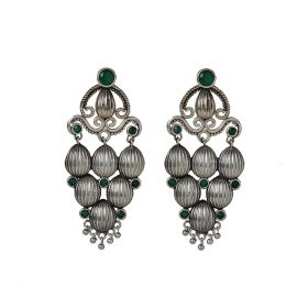 Izaara Ethnic Fashion Hoop Earring For Girls And Women