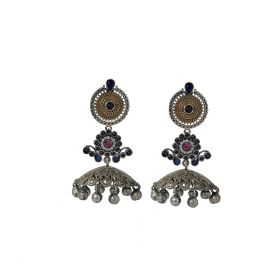 Izaara Ethnic Fashion Long Jhumka Earring with Pearls For Girls And Women