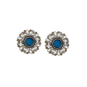 Izaara Oxidised Ethnic Fashion Dangle and Drop Earrings For Girls And Women