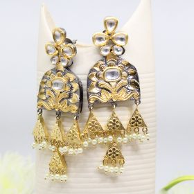 Unique Jhumka Shaped Fashion Earring