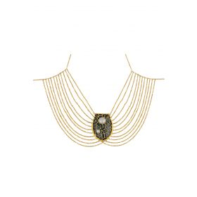 Egyptian Multi Layered Statement Necklace
