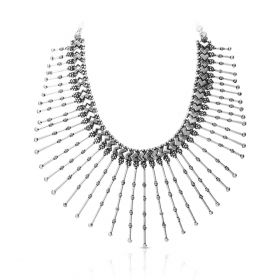 Izaara Premium Silver Necklace